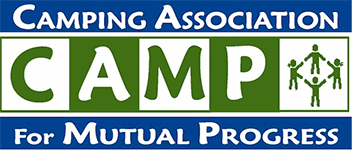 C.A.M.P. - Camping Association for Mutual Progress Logo